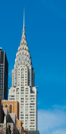 chrysler building: view of the Chrysler Building in Manhattan, NYC Editorial