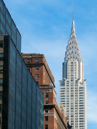 view of the Chrysler Building in Manhattan, NYC