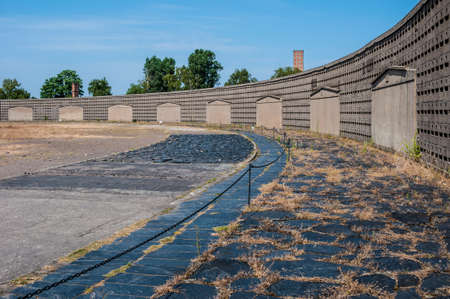 part of the former concentration camp Sachsenhausen near Berlin