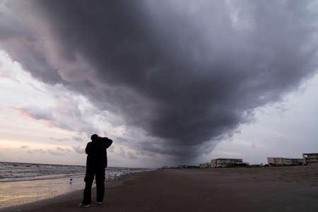 strom: Thunder strom clouds