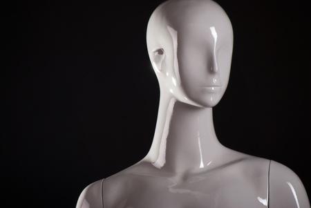 Head of female fashion mannequin  Standard-Bild