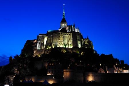 Le Mont saint-Michel Abbey Stock Photo - 9913481