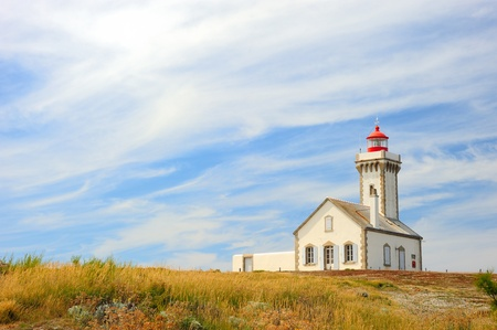 LightHouse Pointe des Poulains, Belle-ile-en-Mer, Brittany, France photo