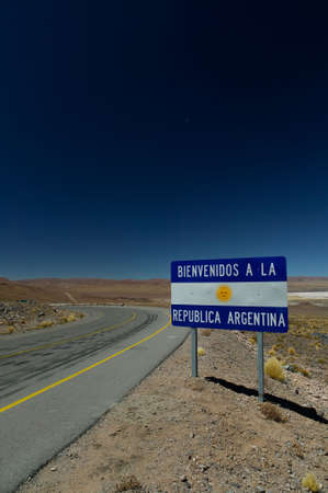 Welcome to Argentina! Stock Photo - 2756456