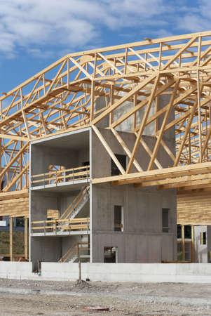 Huge warehouse with nice timber work