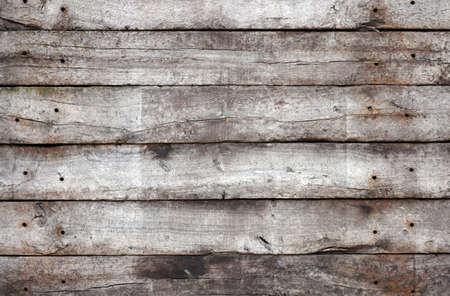 Old wall, made of wooden planks. photo