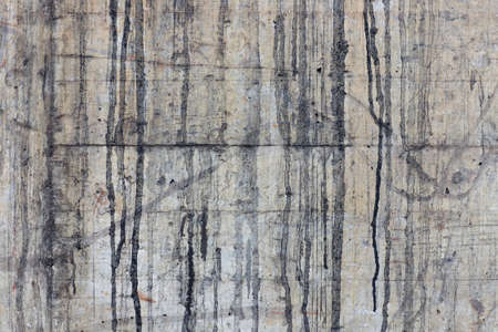 Dirty concrete wall overflew with tar. Stock Photo - 6964149
