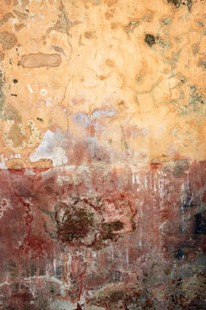 Grunge painted background wall. photo