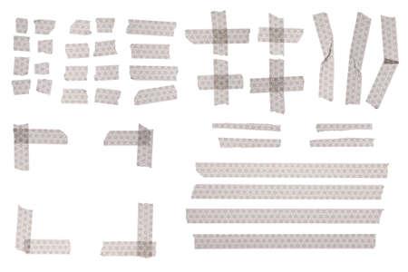 Old japanese pattern masking tape for design. photo