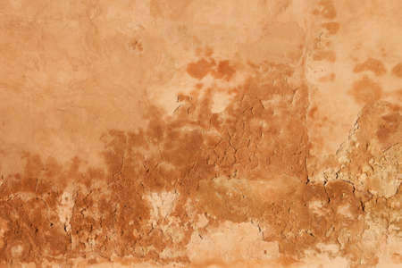 Grunge Moroccan Wall in the old town (medina), Marrakesh. photo