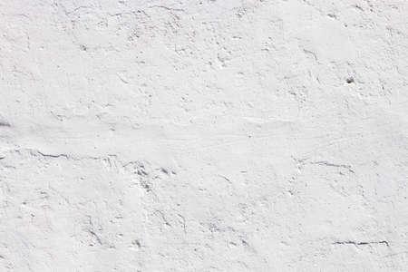 Nice white concrete wall texture, Marrakesh Morocco. Stock Photo
