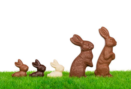 osterhase: Ostern-Kaninchen-Familie Lizenzfreie Bilder