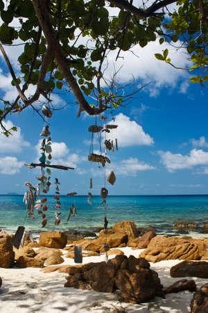 romantic beach setting
