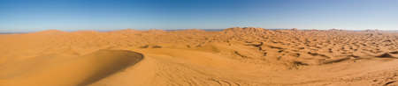 Huge sand dune formation Stock Photo