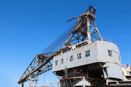 Large marine crane