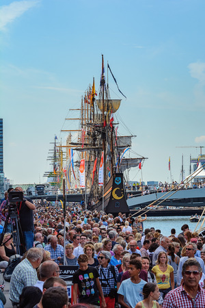 immense: SAIL Amsterdam 2015 is the largest free public event in the world. An immense flotilla of Tall Ships, maritime heritage, naval ships and impressive replicas. AUGUST 20, 2015 AMSTERDAM THE NETHERLANDS
