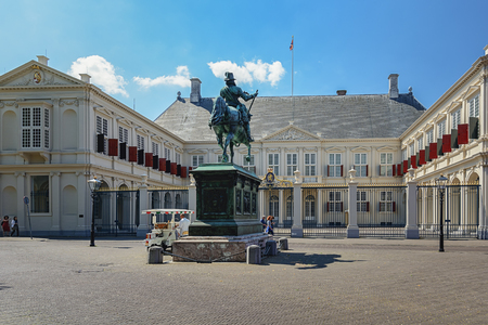 horse pipes: May 12, 2016 , a picture of the Noordeinde Palacein The Hague in the Netherlands, the future residence of the king.