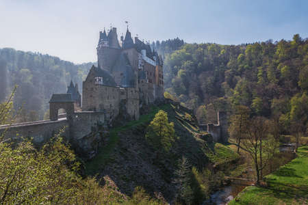 Castle Eltz - one of the most famous and beautiful castles in Germany.