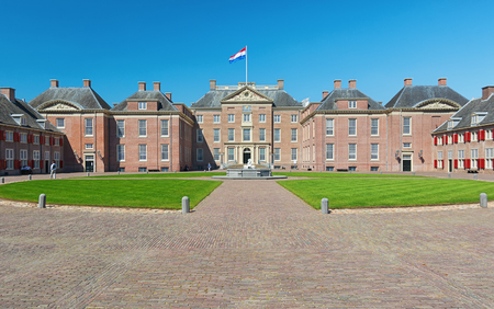 Apeldoorn, The Netherlands, May 8, 2016: The Loo Palace is a former royal palace and is now a national museum located on the outskirts of Apeldoorn in the Netherlands Editorial