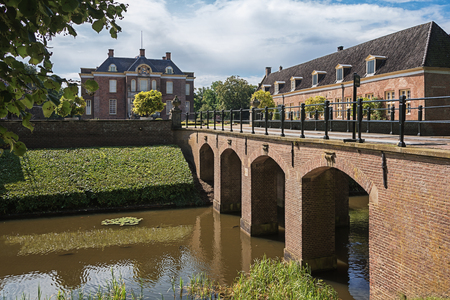 De Steeg, Netherlands, 23 August 2014: The castle and estate Middachten in De Steeg in the Netherlands Redactioneel