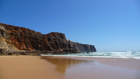 sund: Holiday in Portugal Stock Photo