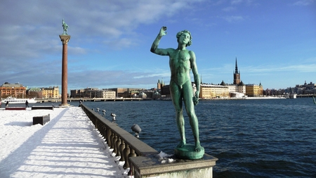 winter time: Stockholm in winter time
