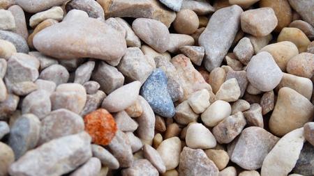 stone wash: Beach stones