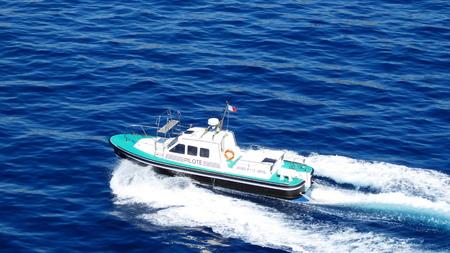 afloat: Pilot at sea