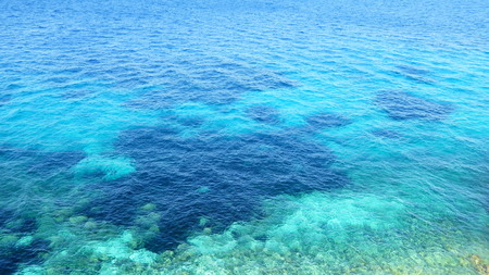 crystal clear: Crystal clear sea water Stock Photo