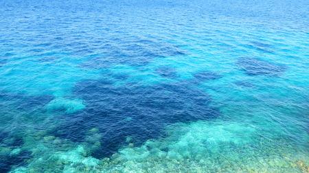 sea water: Crystal clear sea water Stock Photo