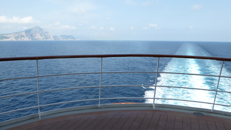 cruis: Passing Capri Stock Photo