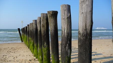 calais: Northern France beach Stock Photo