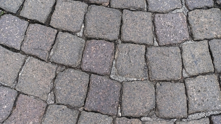 pitching: Old Italian pavement