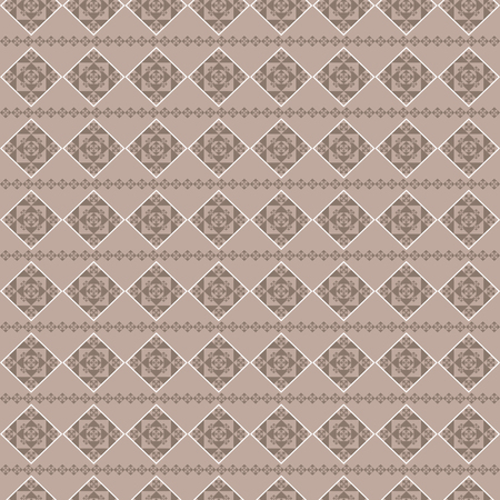 Abstract geometric seamless background with coffee color. An endless pattern suitable for ceramic tile, tacktile, paper, Wallpaper, etc.