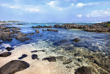 Stones on an ocean coast and shoal Stock Photo - 11764868