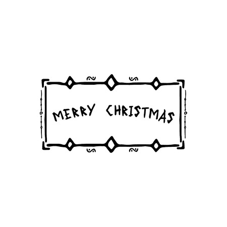 Frame Merry Christmas