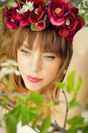 circlet: Girl spring