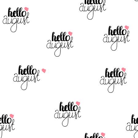 wallpapper: Hand Drawn Lettering Seamless Pattern