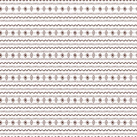 uncommon: Uncommon Ethnic pattern. Geometric and aztec decor elements. Trendy backgrounds. Vector. Illustration