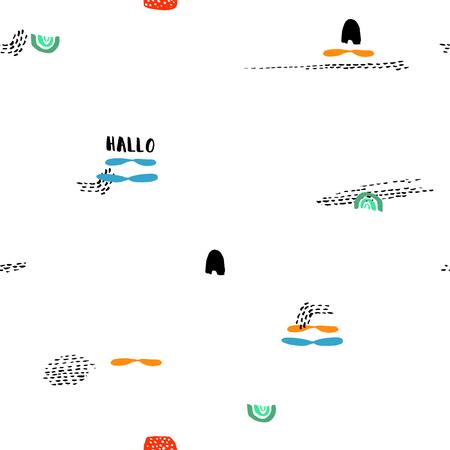 singular: Creative vector pattern with extraordinary Shapess And Dots