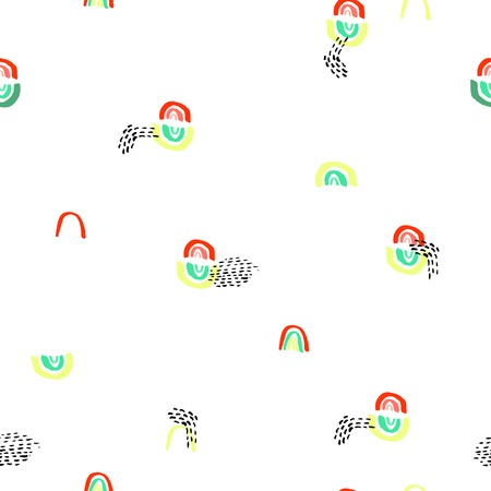 extraordinary: Creative vector pattern with extraordinary Shapess And Dots