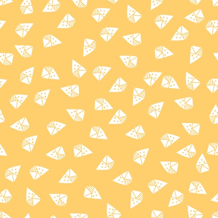 extraordinary: Vector Pattern With Extraordinary Triangle Shapes