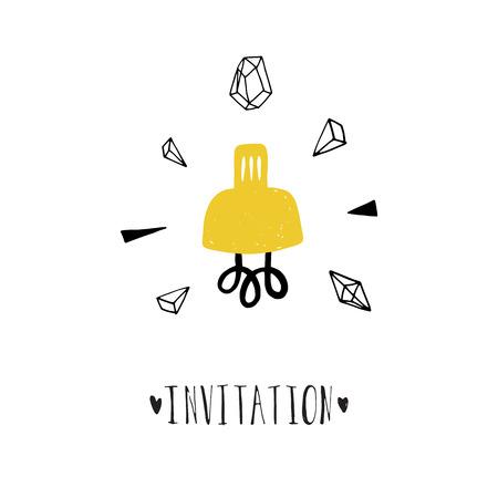 Loft template invitation