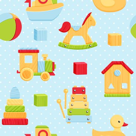 Multiple toys pattern