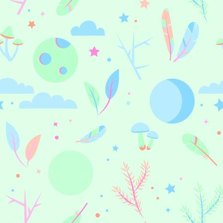 Pajama pattern illustration.
