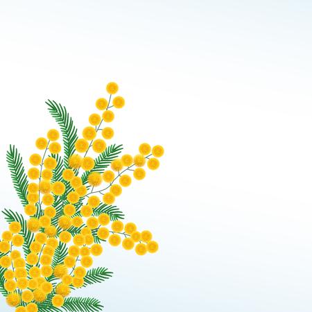 Vector nature illustration with simbol of spring Ilustração