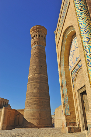 Bukhara: Kalyan minaret and arch Editorial
