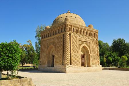 ブハラ: 様似イスマイル廟 写真素材