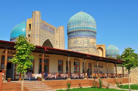 Samarkand, Uzbekistan. Bibi Khanym mosque. 11 of September 2017