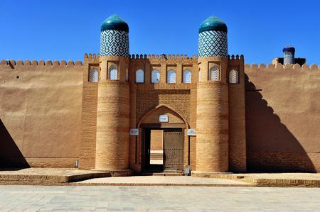 Khiva: beautiful arch